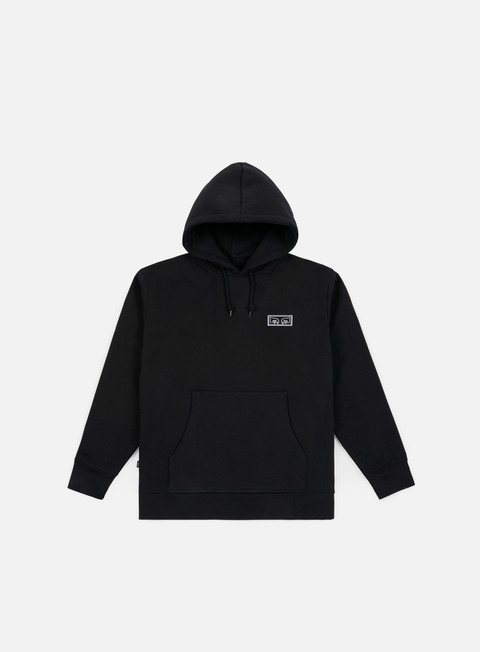 felpe obey obey eyes heavy hoody black