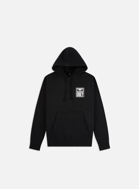 Felpe con Cappuccio Obey Obey Eyes Icon 2 Box Fit Premium Hoodie