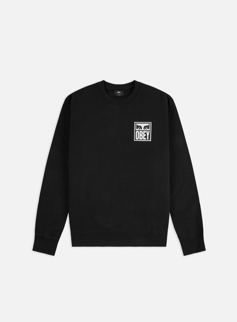 Crewneck Sweatshirts Obey Obey Eyes Icon 2 Premium Fleece Crewneck