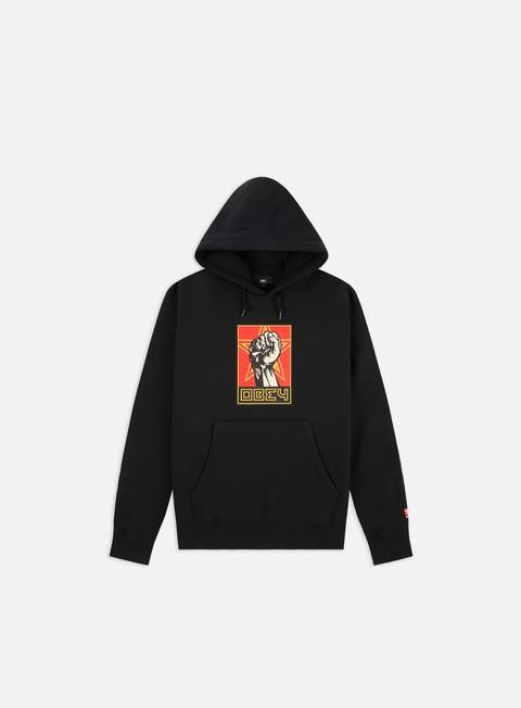 Hooded Sweatshirts Obey Obey Fist 30 Years Box Fit Premium Hoodie