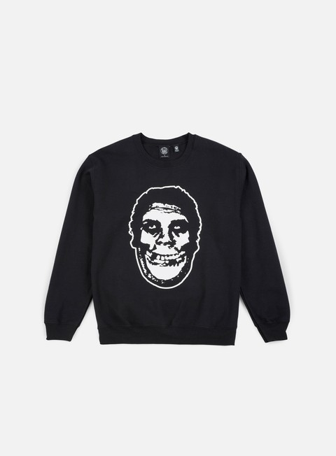 felpe obey obey misfits teenagers from mars crewneck black