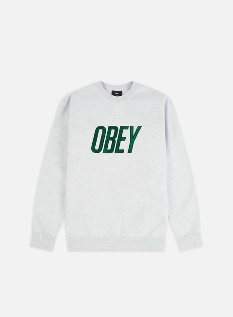 Outlet e Saldi Felpe Girocollo Obey Obey Panic Crewneck