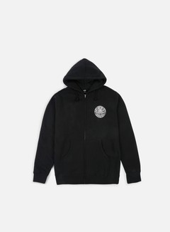 Obey - Obey Propaganda Co Badge Hoodie, Black 1