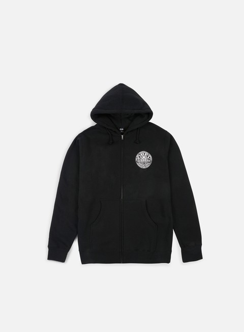 felpe obey obey propaganda co badge hoodie black