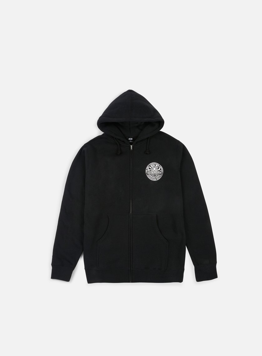 Obey - Obey Propaganda Co Badge Hoodie, Black