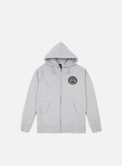 Obey - Obey Propaganda Co Badge Hoodie, Heather Grey