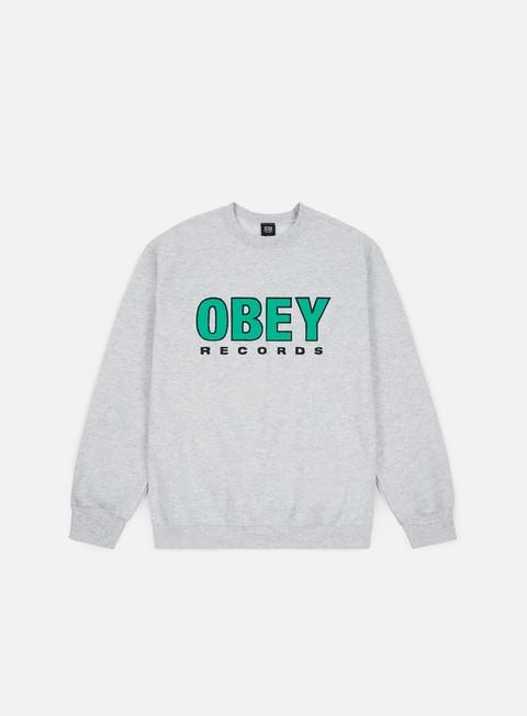 Obey Obey Records 2 Basic Box Crewneck