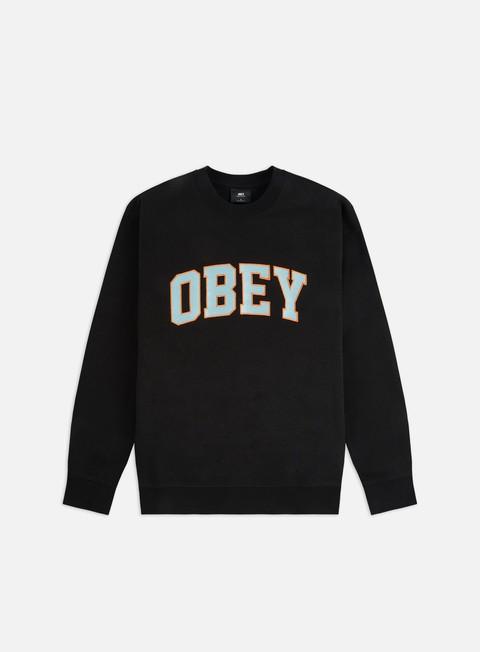 Outlet e Saldi Felpe Girocollo Obey Obey Sports II Crewneck