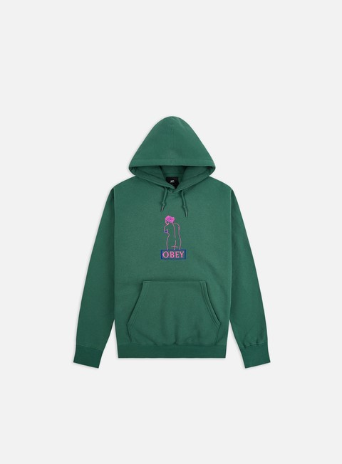 Obey Obey Statue Print Hoodie