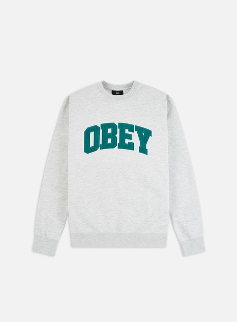 Felpe Logo Obey Obey Uni Crewneck