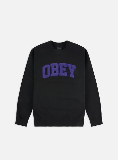Outlet e Saldi Felpe Girocollo Obey Obey Uni Crewneck