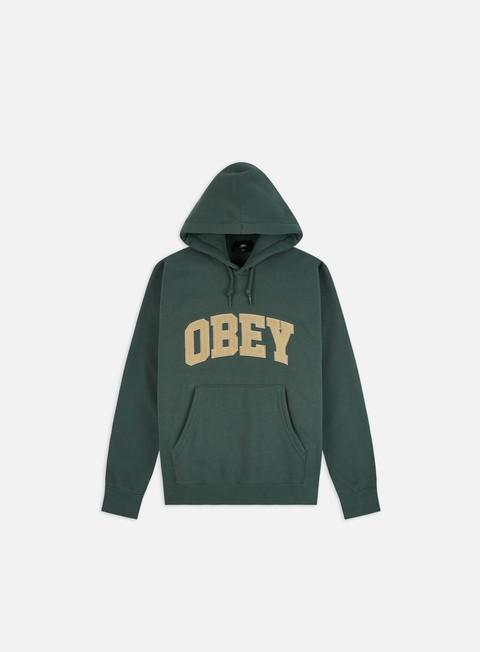 Felpe Logo Obey Obey Uni Hoodie