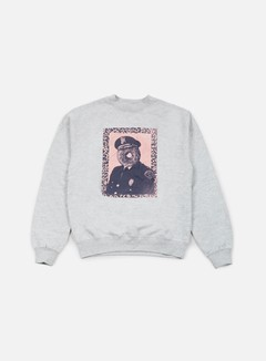 Obey - Officer Sprinkles Crewneck, Heather Grey 1