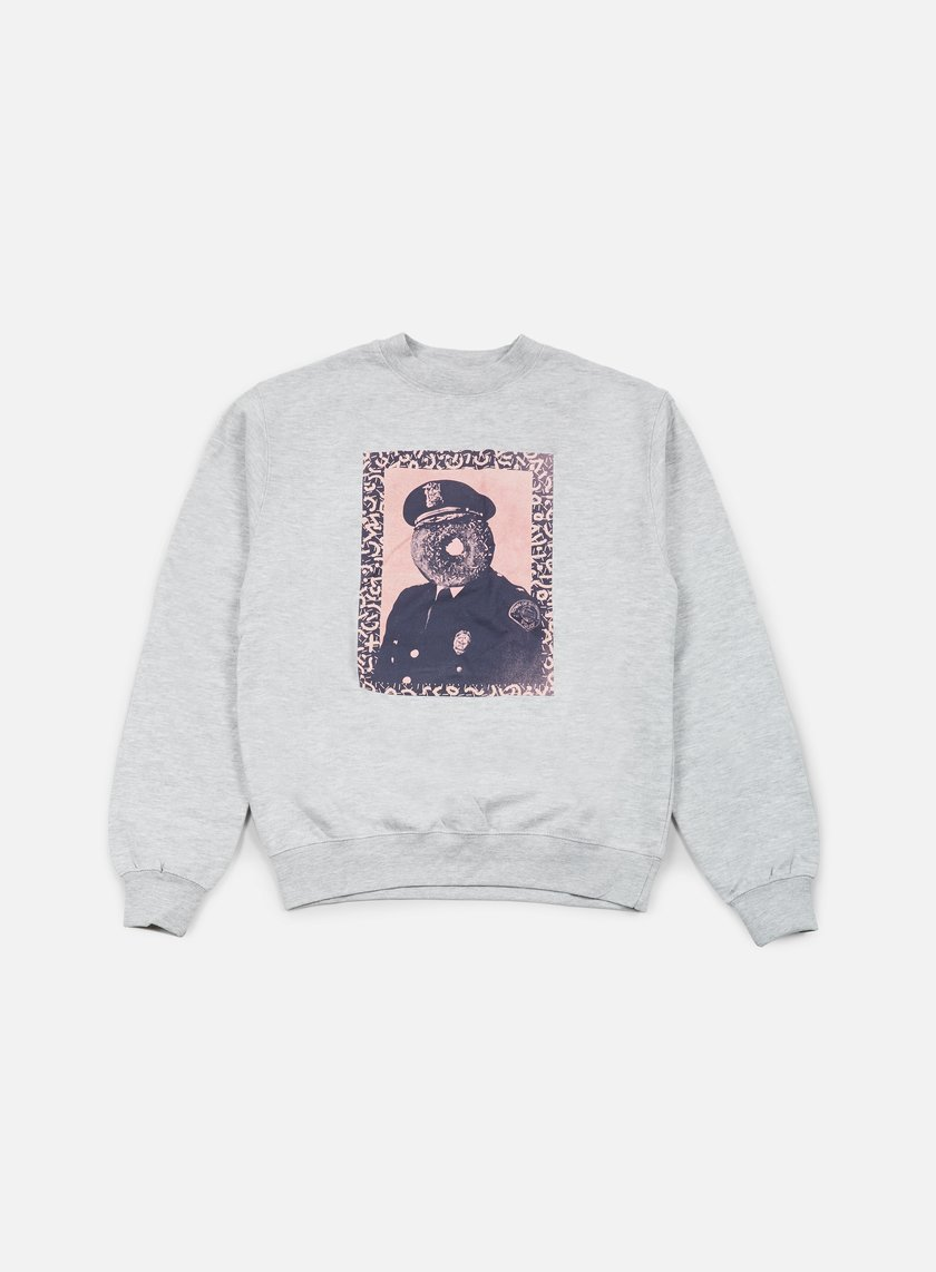 Obey - Officer Sprinkles Crewneck, Heather Grey