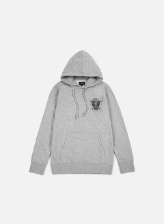 Obey - Peace And Justice Hoodie, Heather Grey