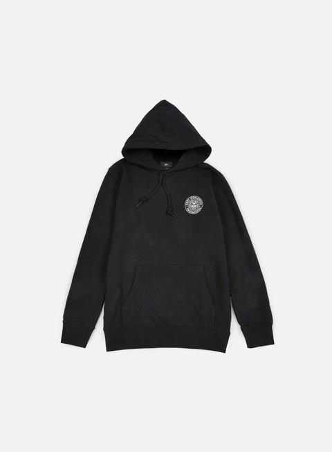 felpe obey propaganda seal hoodie black