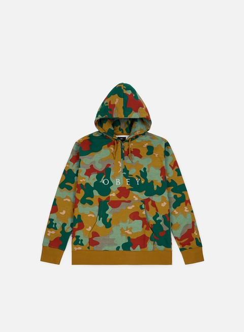 Sale Outlet Hooded Sweatshirts Obey Reason Anorak Hoodie
