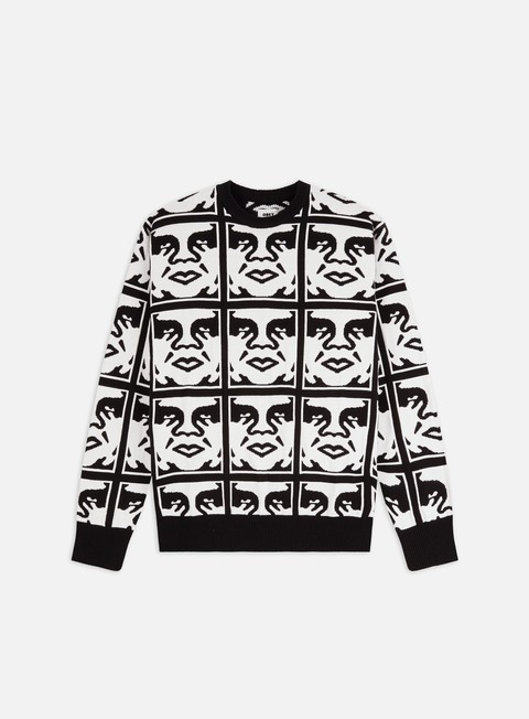 Sweaters and Fleeces Obey Repeat Sweater