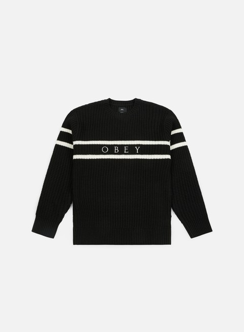 felpe obey roebling sweater black multi
