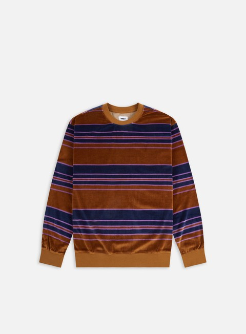 Obey Ronen Velour Speciality Crewneck