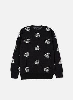 Obey - Shepard Rose Sweater, Black/Multi 1