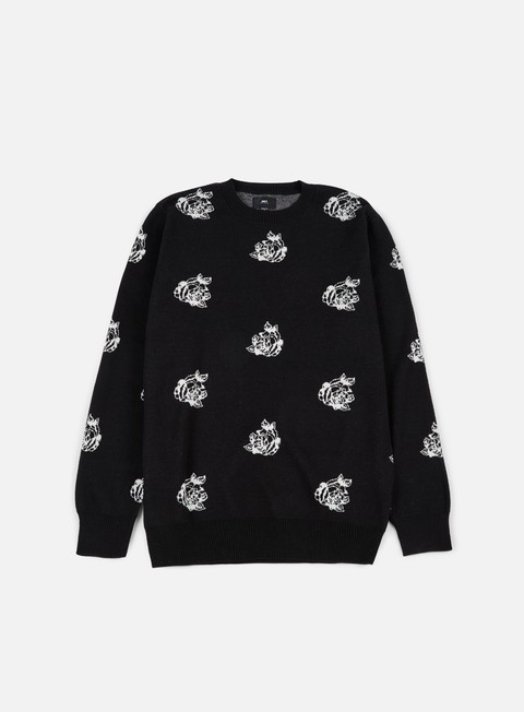 felpe obey shepard rose sweater black multi