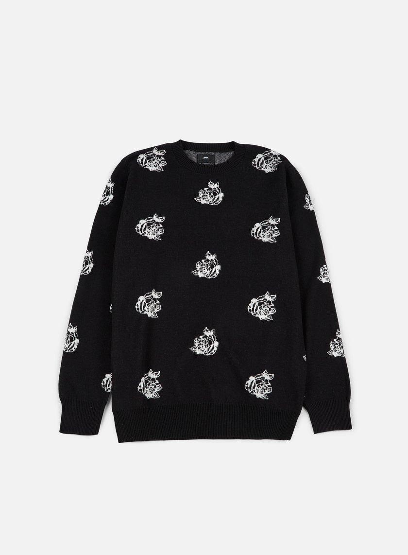 Obey - Shepard Rose Sweater, Black/Multi