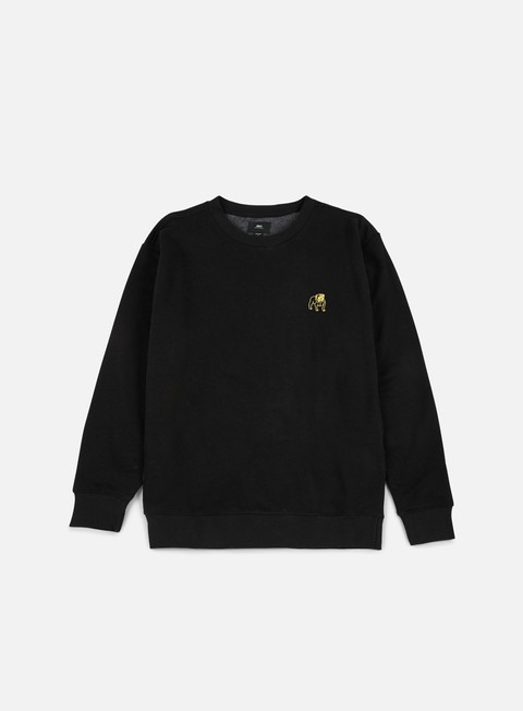 felpe obey special reserve crewneck black