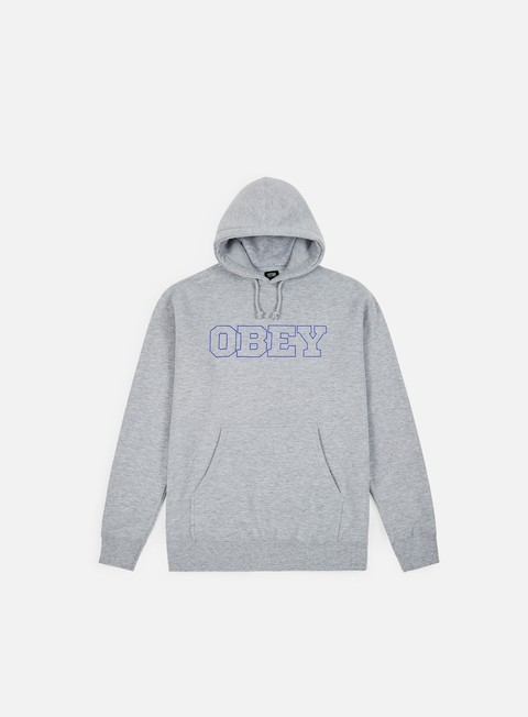 Sale Outlet Hooded Sweatshirts Obey Strong Minds Basic Hoodie