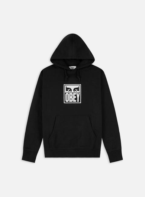 Hooded Sweatshirts Obey Subvert Eyes Speciality Fleece Hoodie