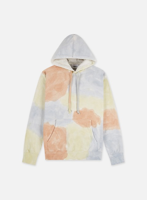 Felpe con Cappuccio Obey Sustainable Tie Dye Specialty Fleece Hoodie