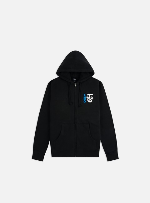 Obey The Creeper 2 Basic Zip Hoodie