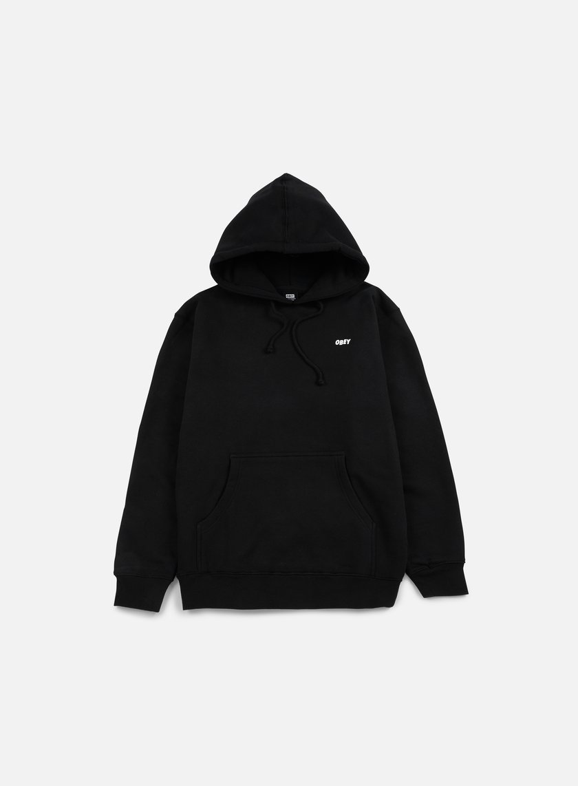 Obey - The Creeper Hoodie, Black