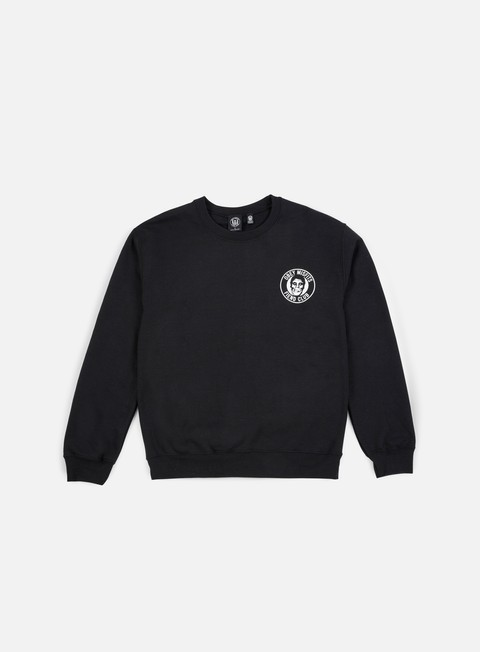 felpe obey the obey fiend club crewneck black