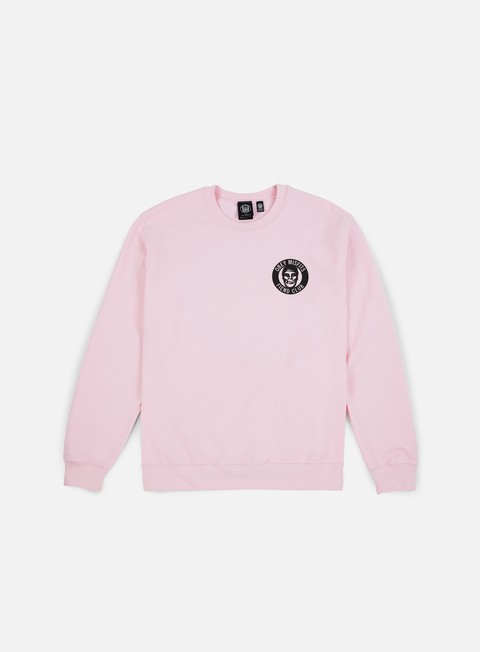felpe obey the obey fiend club crewneck light pink