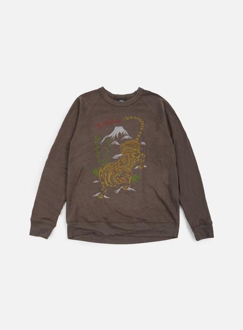 Crewneck Sweatshirts Obey Tiger Style Crewneck