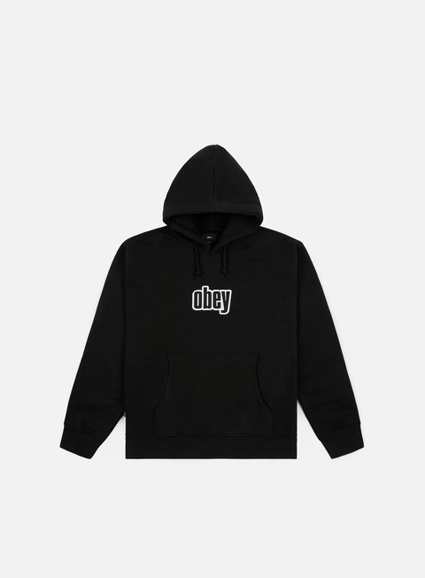 Felpe Logo Obey Warp Hoodie