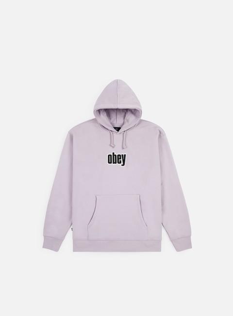 Logo Sweatshirts Obey Warp Hoodie