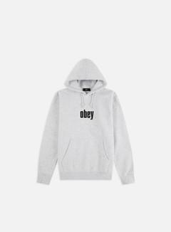Obey - Warp II Hoodie, Ash Grey