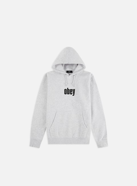 Logo Sweatshirts Obey Warp II Hoodie
