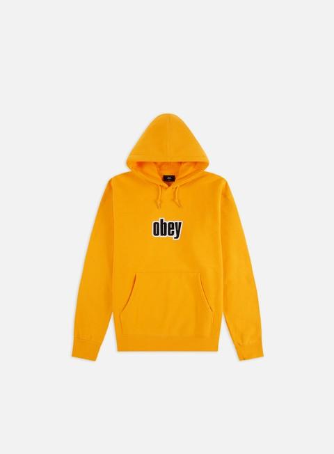 Hooded Sweatshirts Obey Warp II Hoodie
