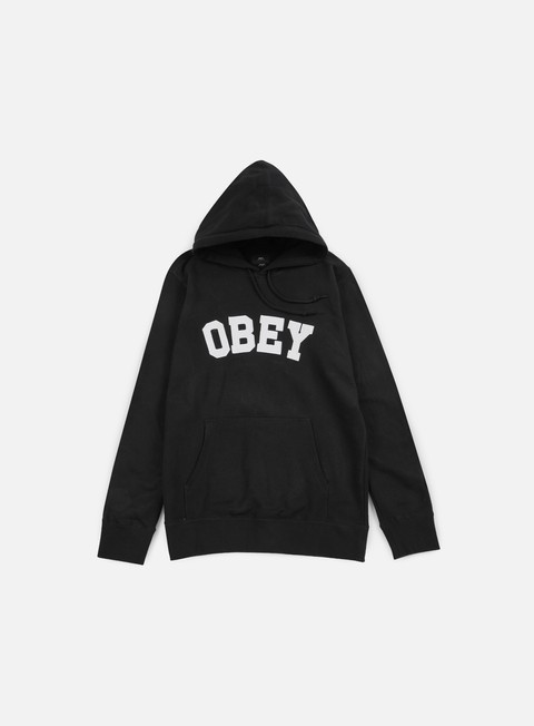 felpe obey watson hoodie black