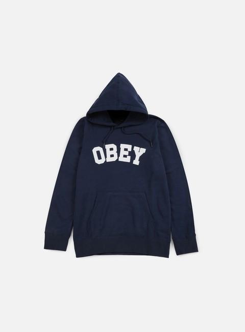 felpe obey watson hoodie navy