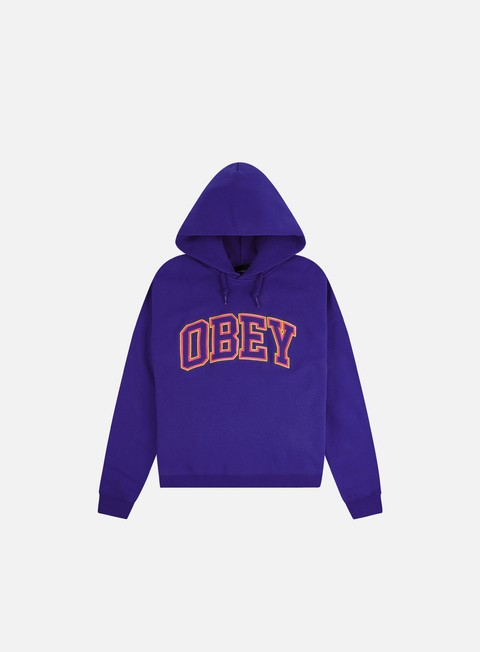Obey WMNS Conrad Cropped Speciality Fleece Hoodie