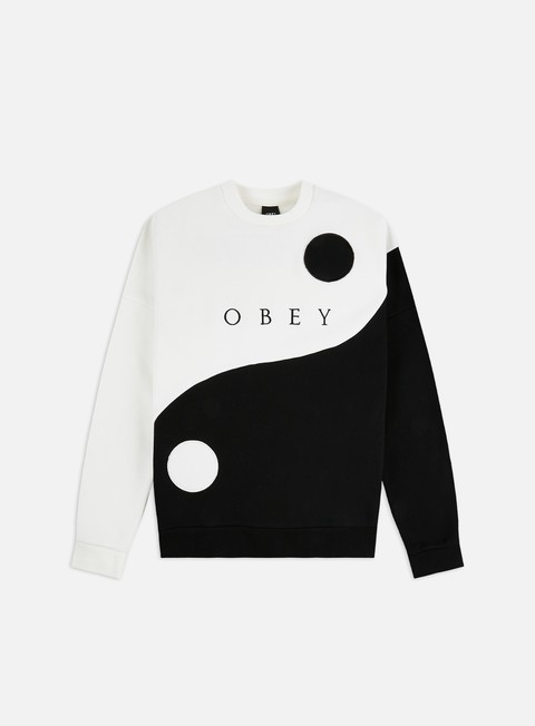 Obey WMNS Darkside Speciality Fleece Crewneck