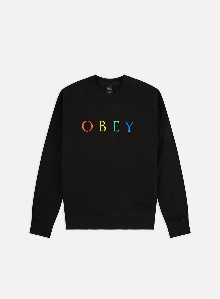 Obey WMNS Novel Obey 2 Box Fit Crewneck