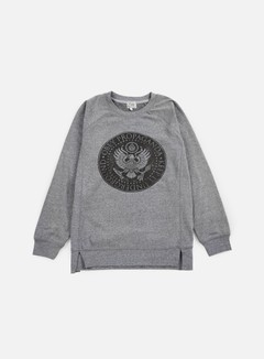 Obey - WMNS Oil Eagle Crewneck, Heather Grey 1