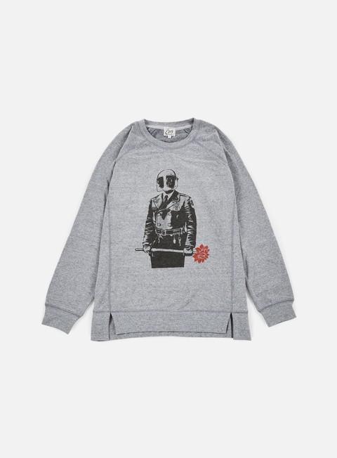Sale Outlet Crewneck Sweatshirts Obey WMNS Sadistic Florist Crewneck