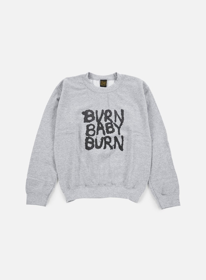 Obey - WMNS War Pigs Cozy Throwback Crewneck, Heather Grey
