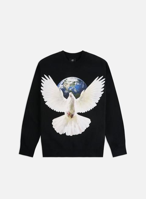 Outlet e Saldi Felpe Girocollo Obey Worldwide Peace Crewneck